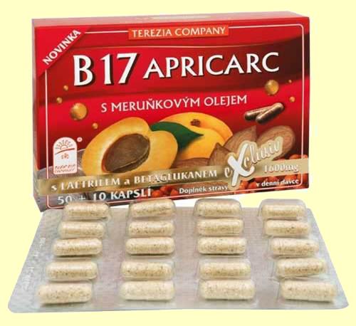 witamina B17 - kapsułki B17 APRICARC